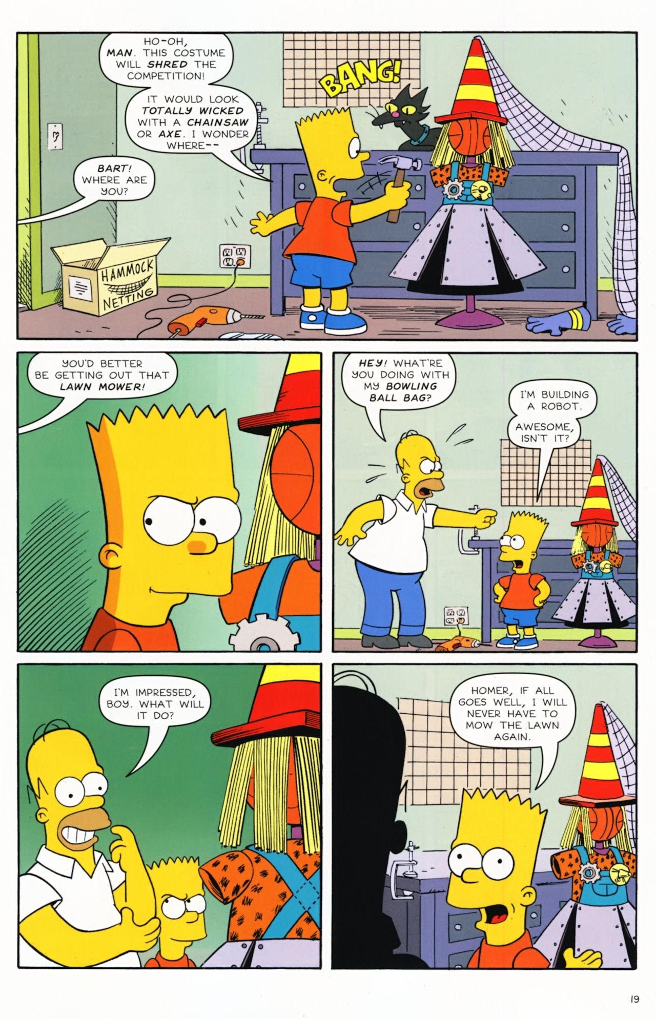 Read online Simpsons Comics Presents Bart Simpson comic -  Issue #55 - 16