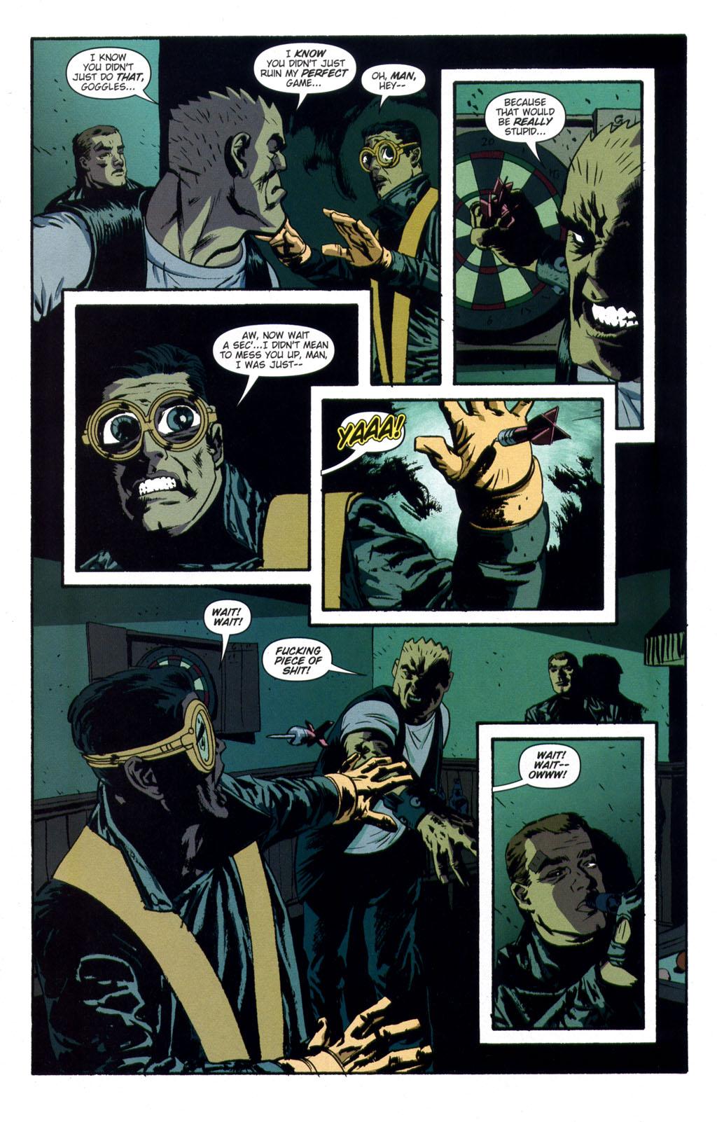 Read online Sleeper comic -  Issue #9 - 13