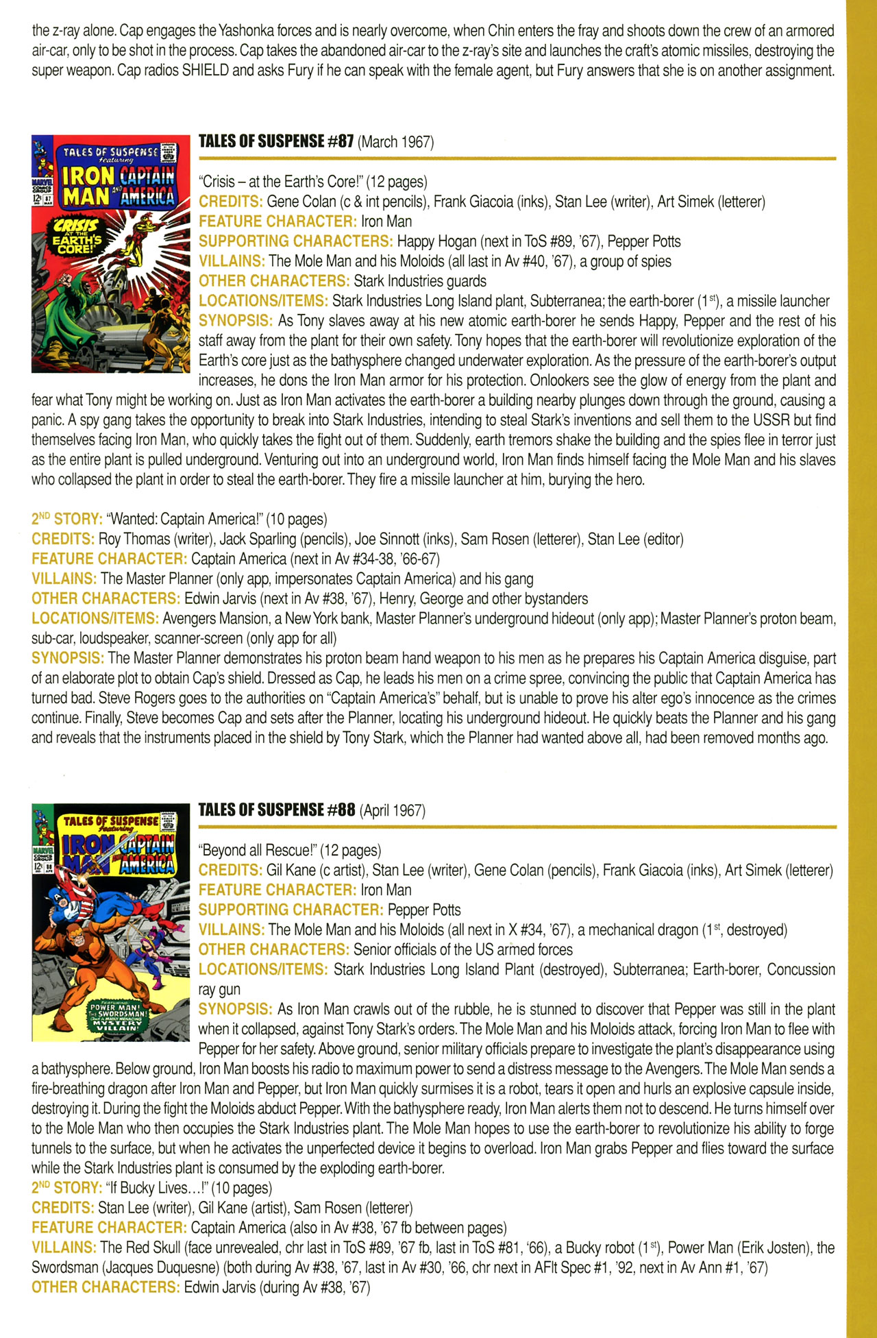 Read online Official Index to the Marvel Universe comic -  Issue #2 - 31