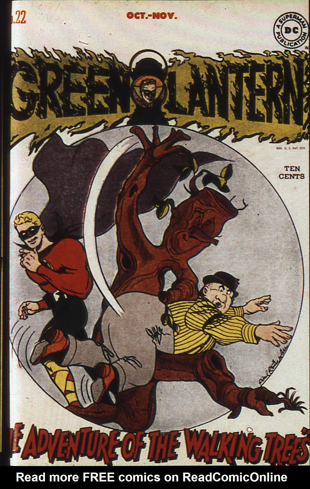 Green Lantern (1941) 22 Page 1