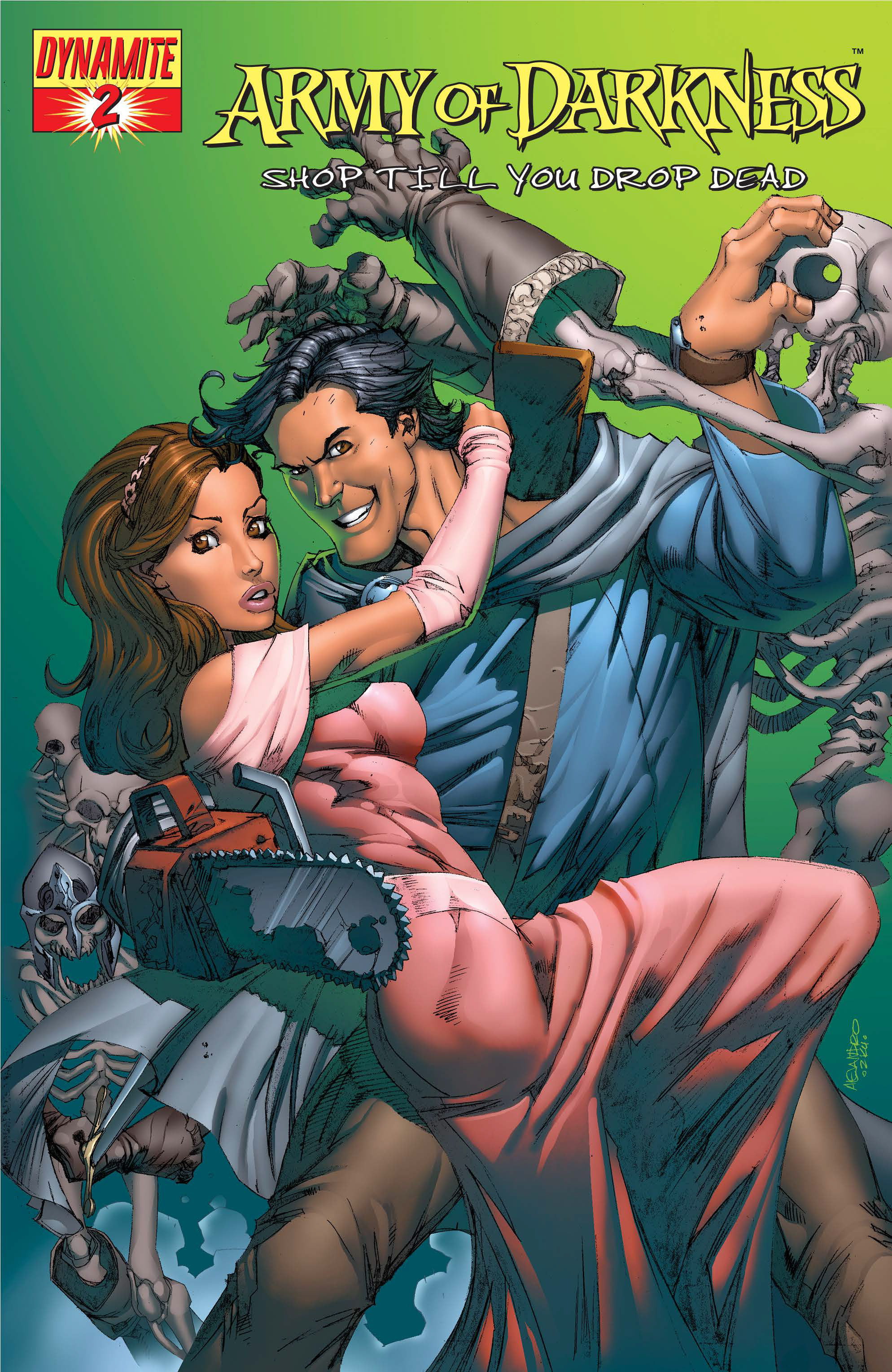 Read online Army of Darkness: Shop Till You Drop Dead comic -  Issue #Army of Darkness: Shop Till You Drop Dead TPB - 34
