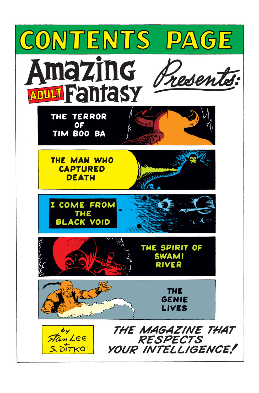Read online Amazing Adult Fantasy comic -  Issue #9 - 2