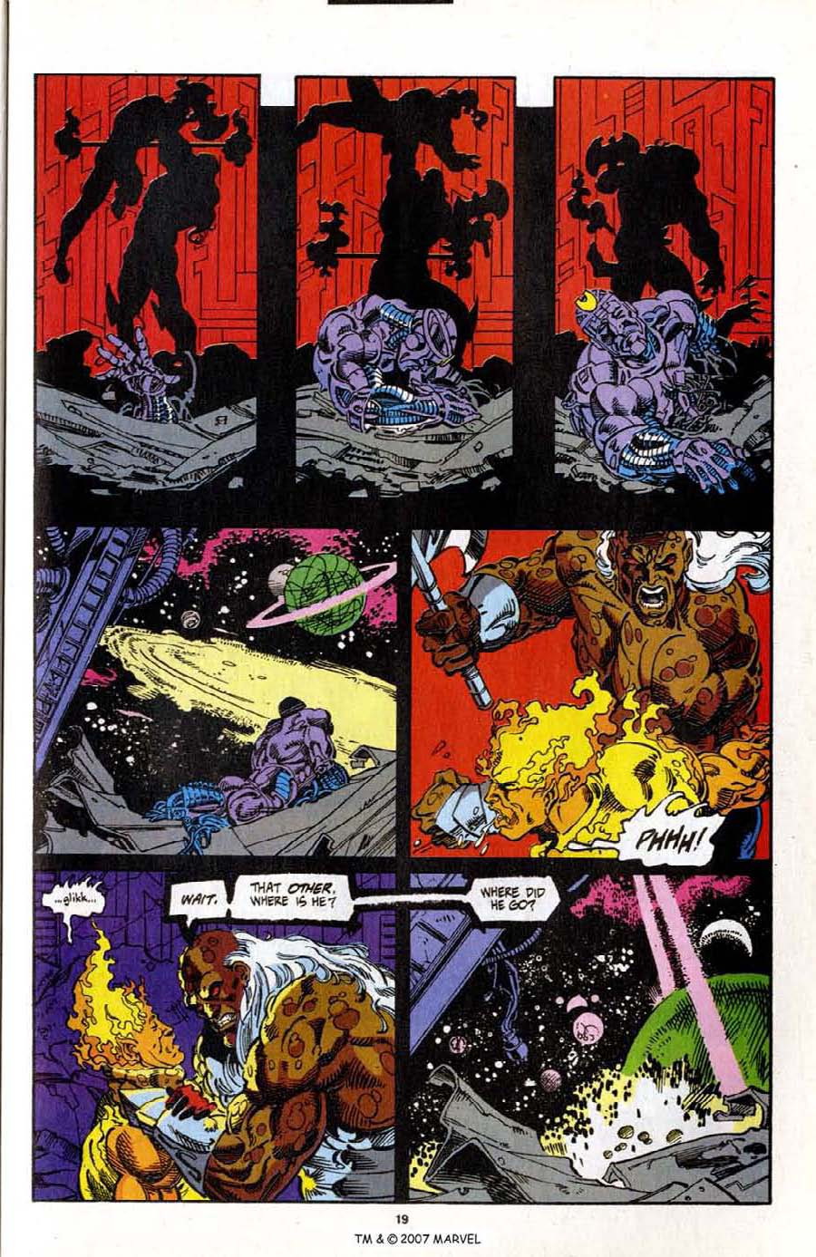Read online Silver Surfer (1987) comic -  Issue # _Annual 7 - 21