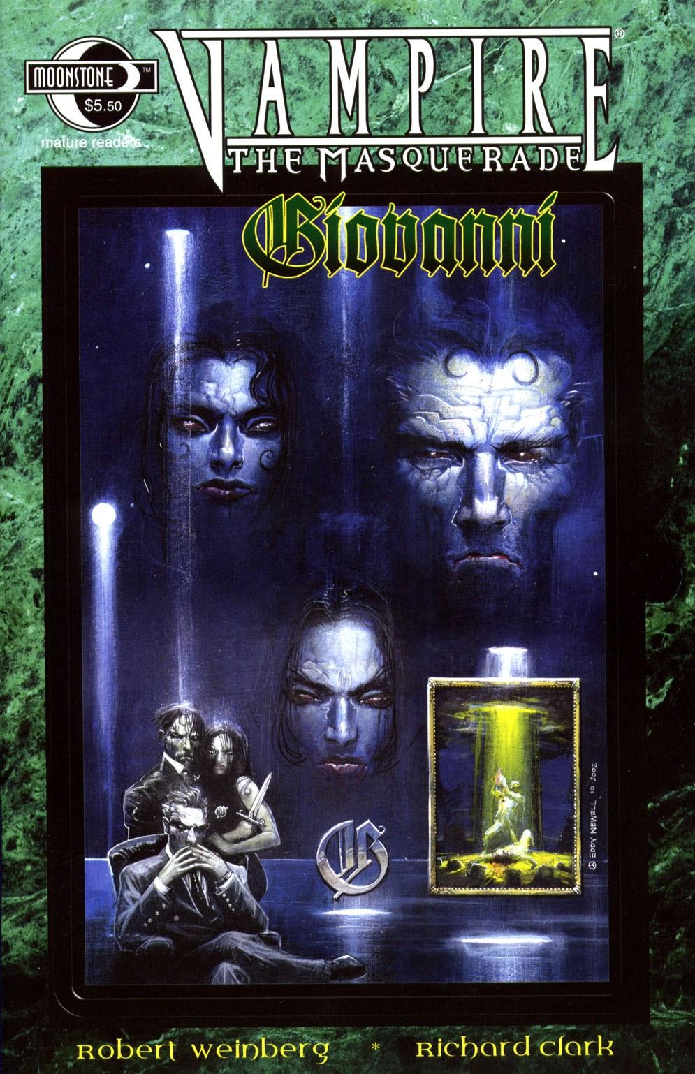 Read online Vampire the Masquerade comic -  Issue # Giovanni - 1