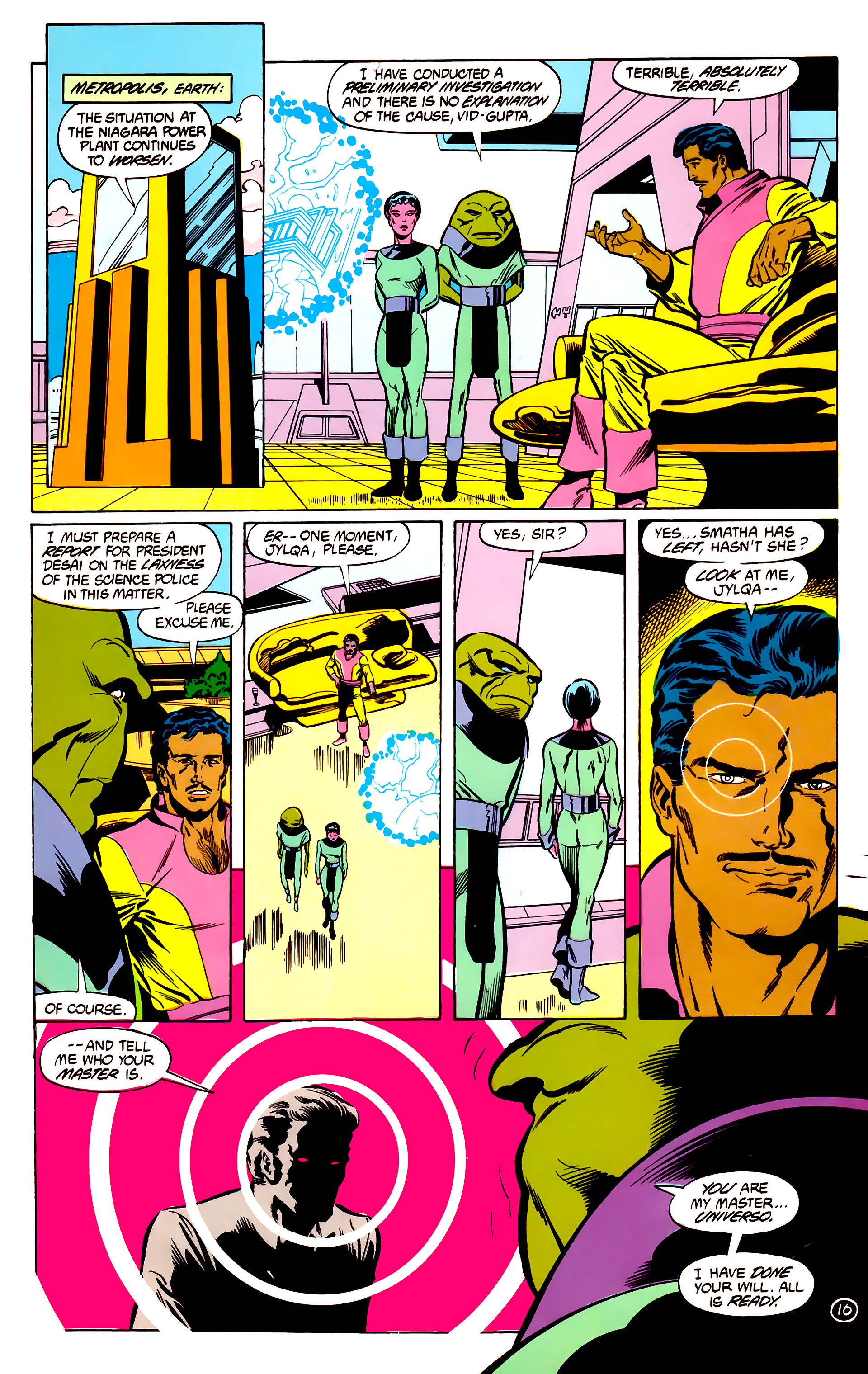 Legion of Super-Heroes (1984) 30 Page 16
