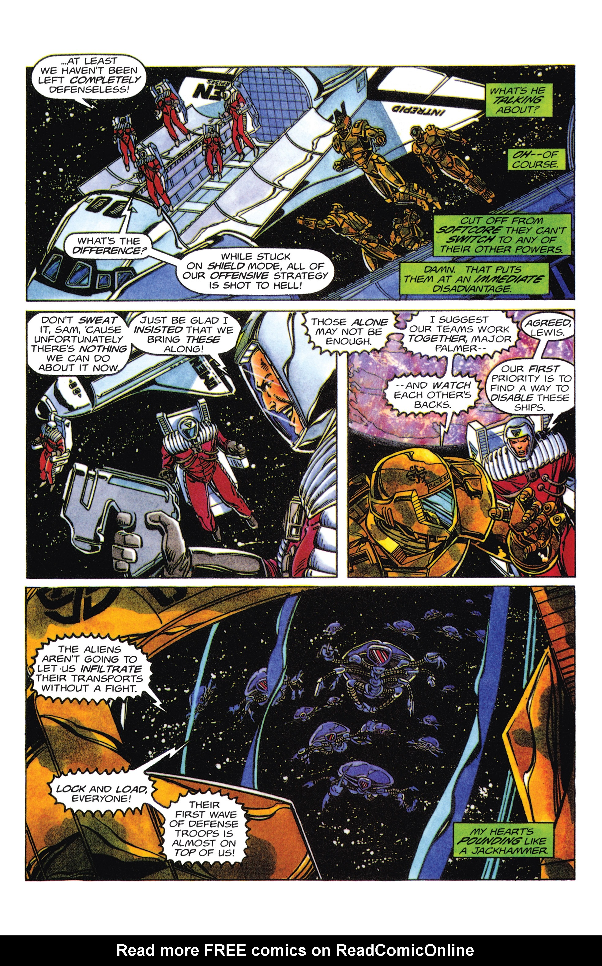 Read online Armorines comic -  Issue #5 - 11