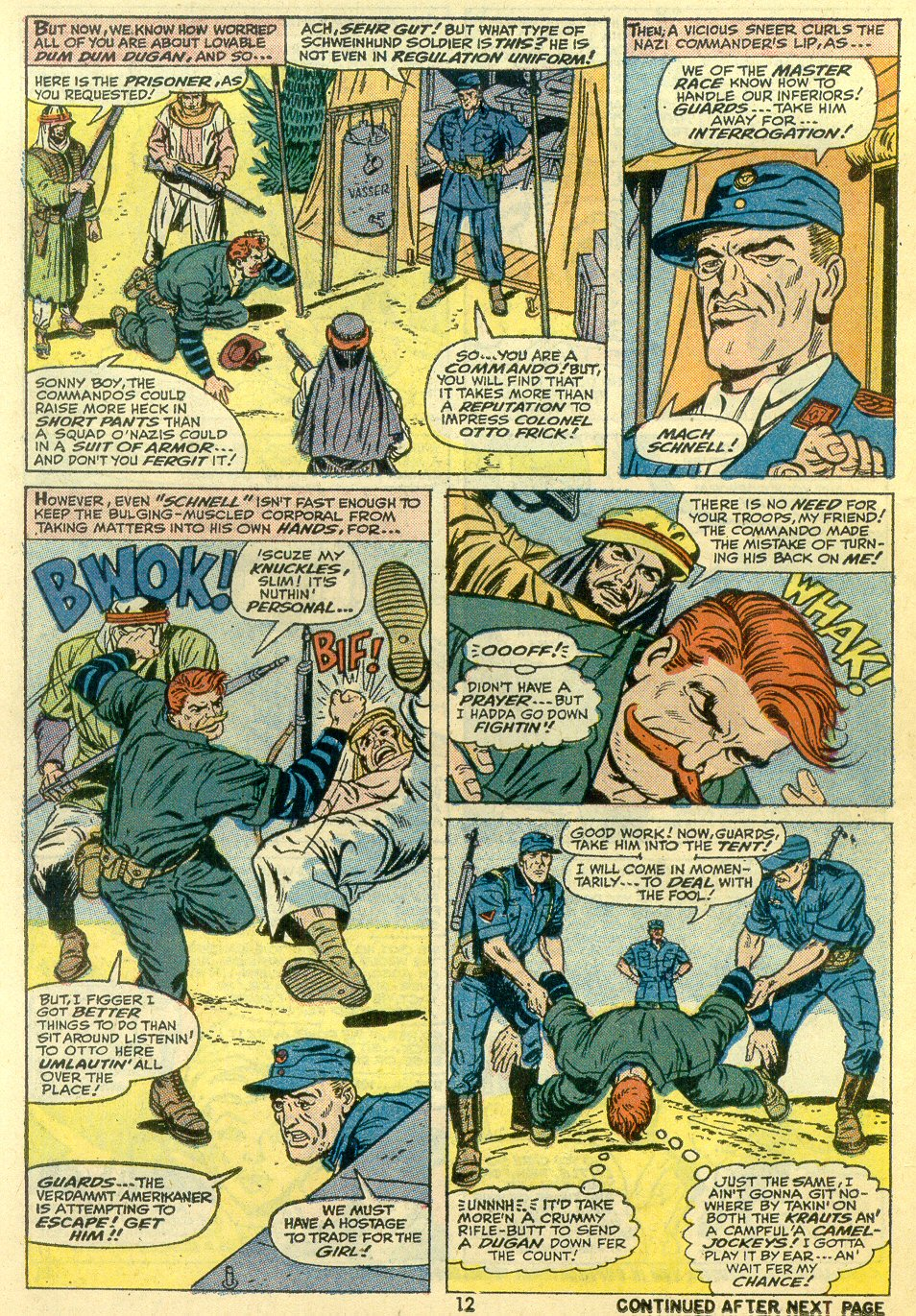 Read online Sgt. Fury comic -  Issue #107 - 14