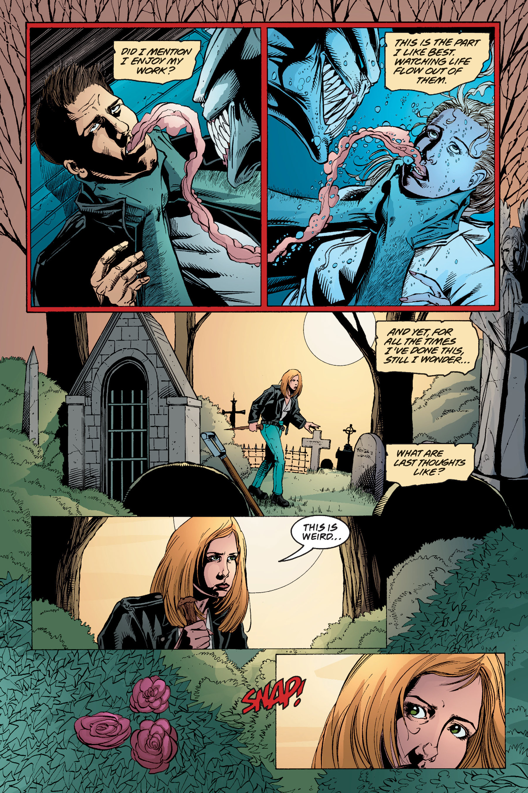 Read online Buffy the Vampire Slayer: Omnibus comic -  Issue # TPB 4 - 356