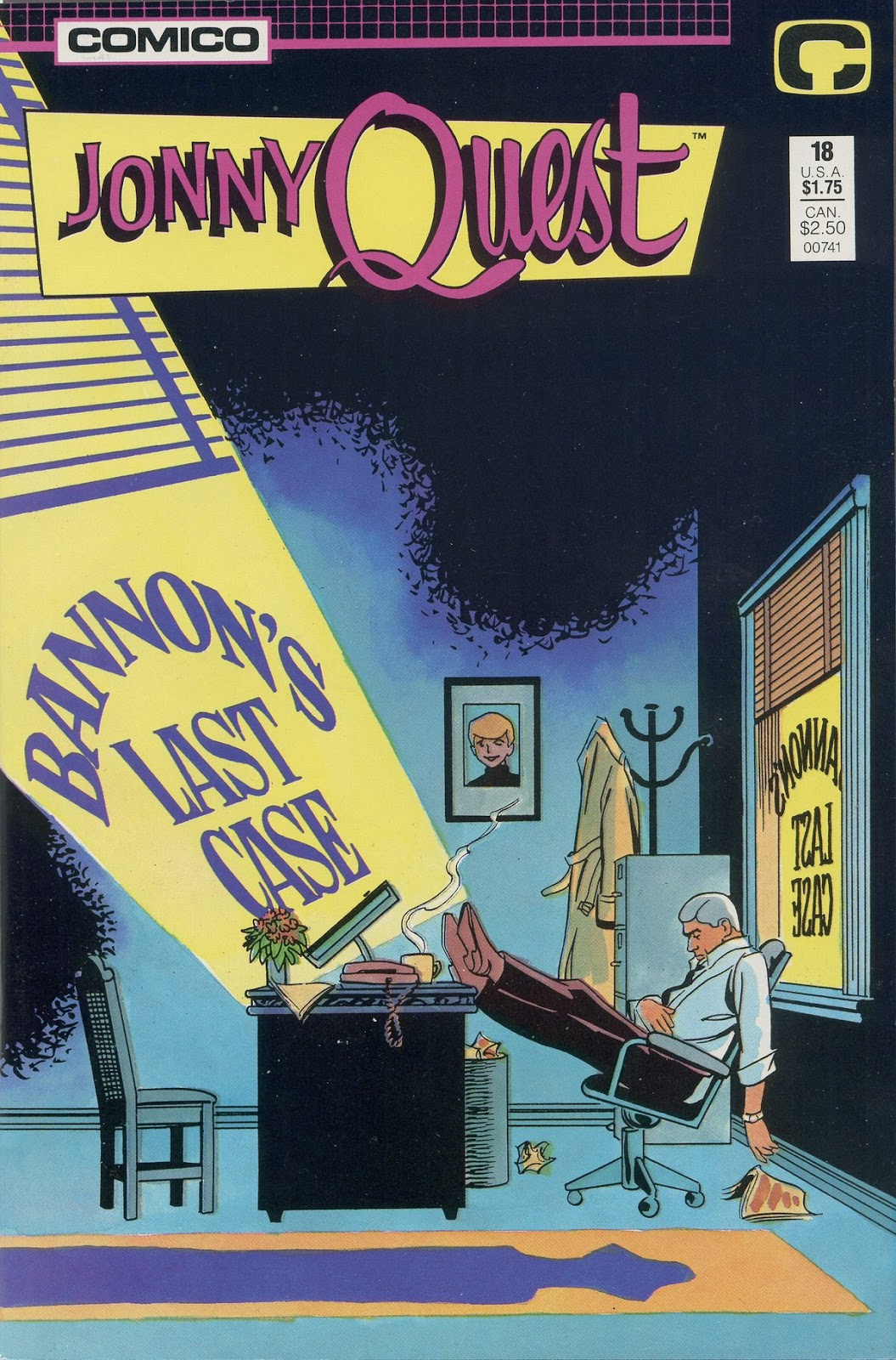 Jonny Quest (1986) issue 18 - Page 1