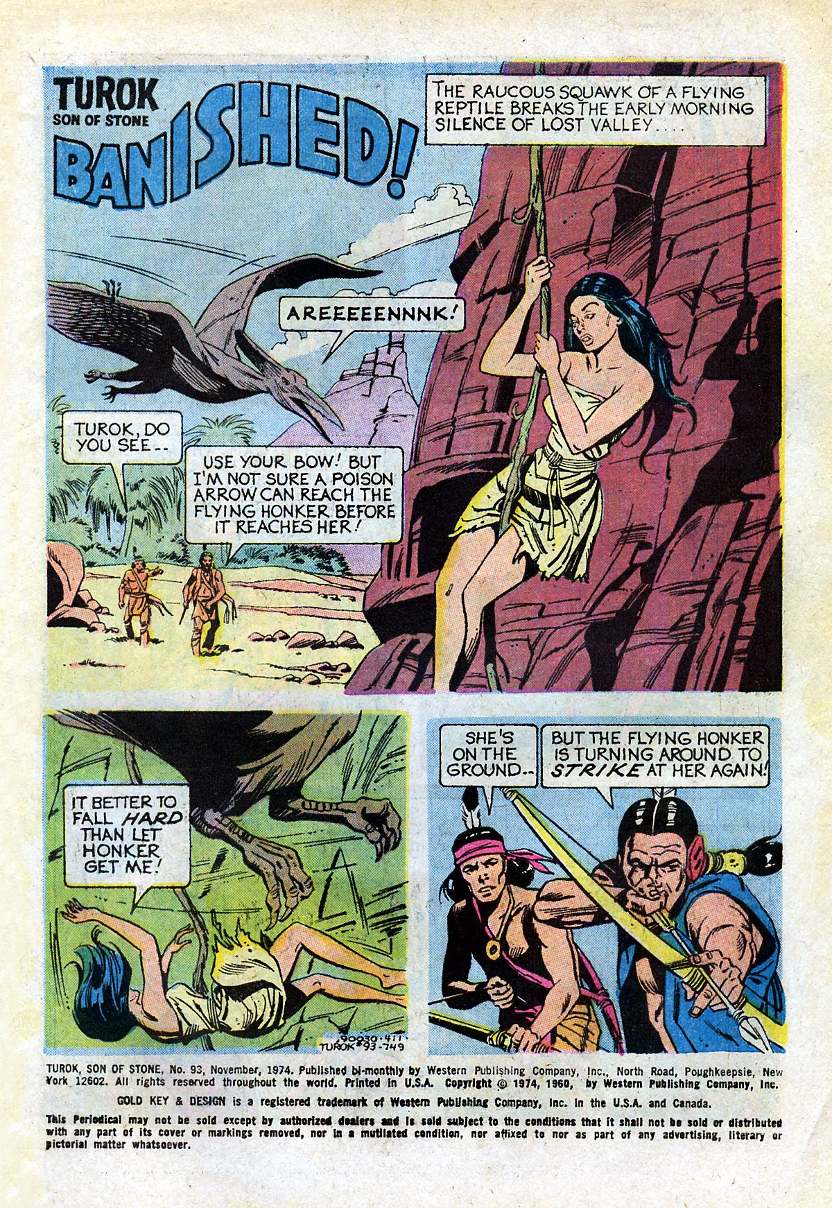 Read online Turok, Son of Stone comic -  Issue #93 - 3