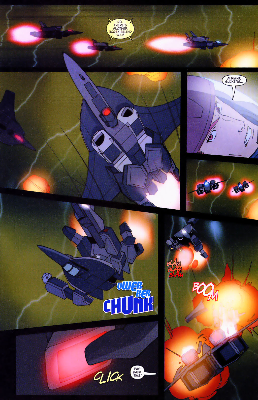 Read online Robotech: Prelude to the Shadow Chronicles comic -  Issue #4 - 9