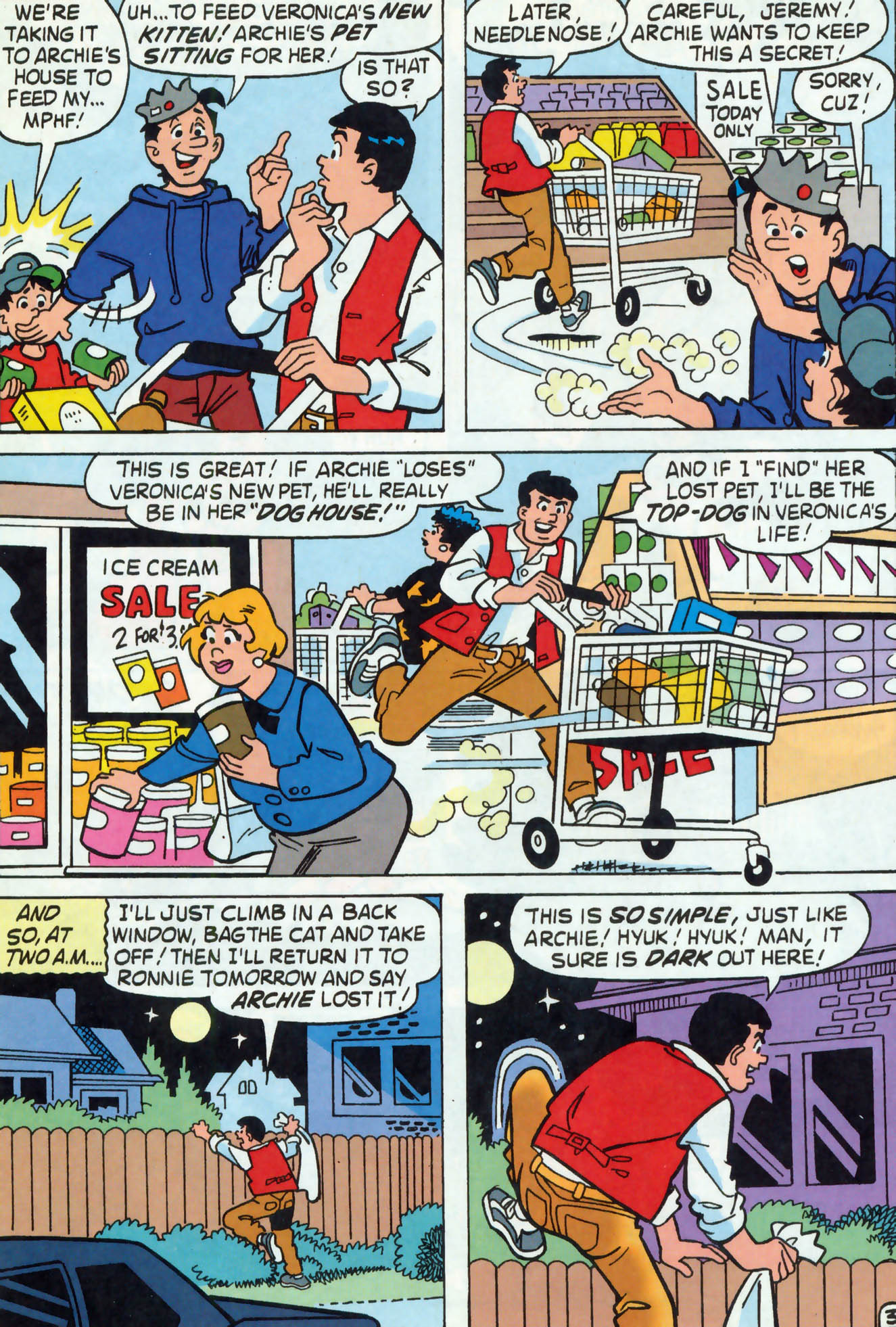 Read online Archie (1960) comic -  Issue #465 - 11