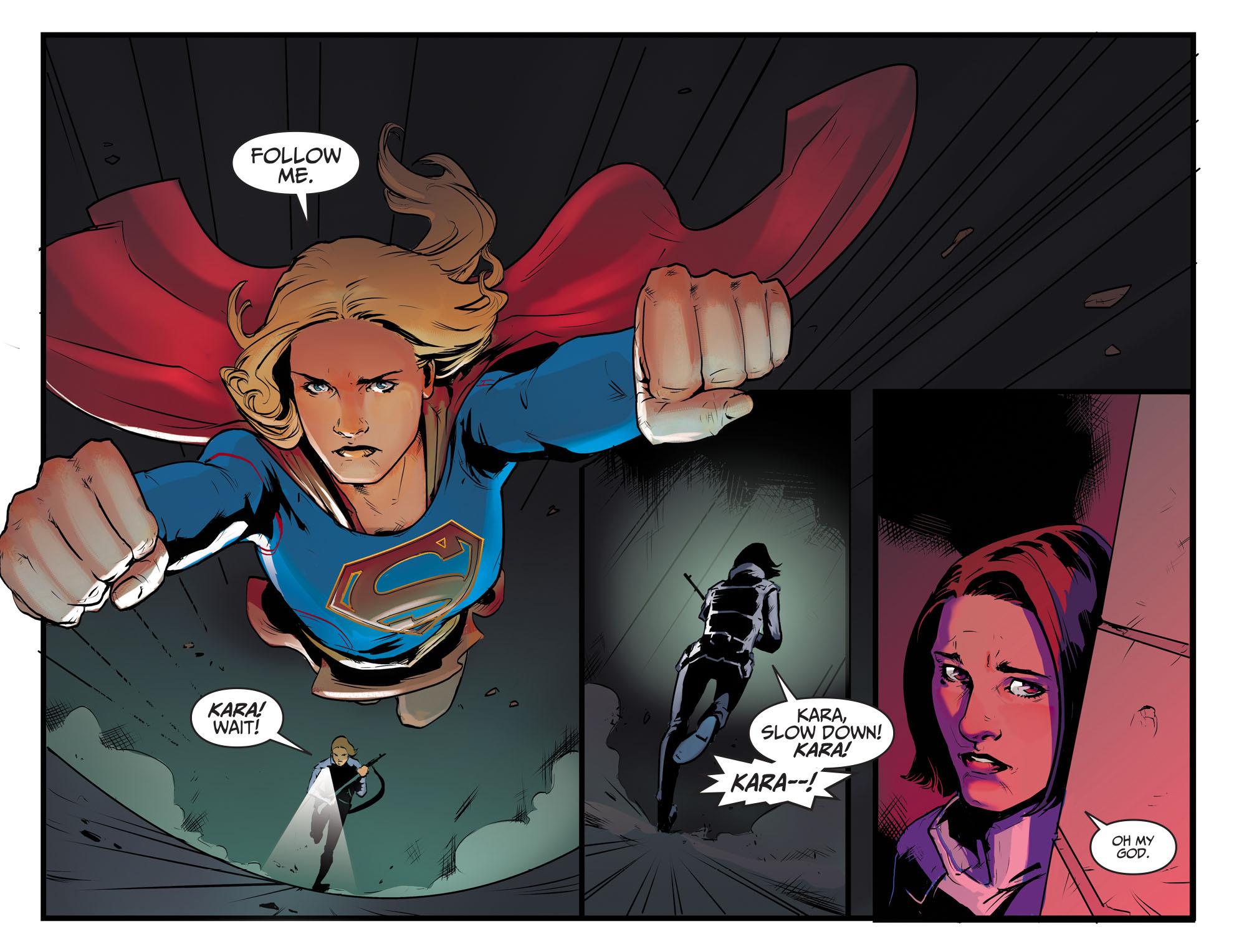 Read online Adventures of Supergirl comic -  Issue #8 - 20