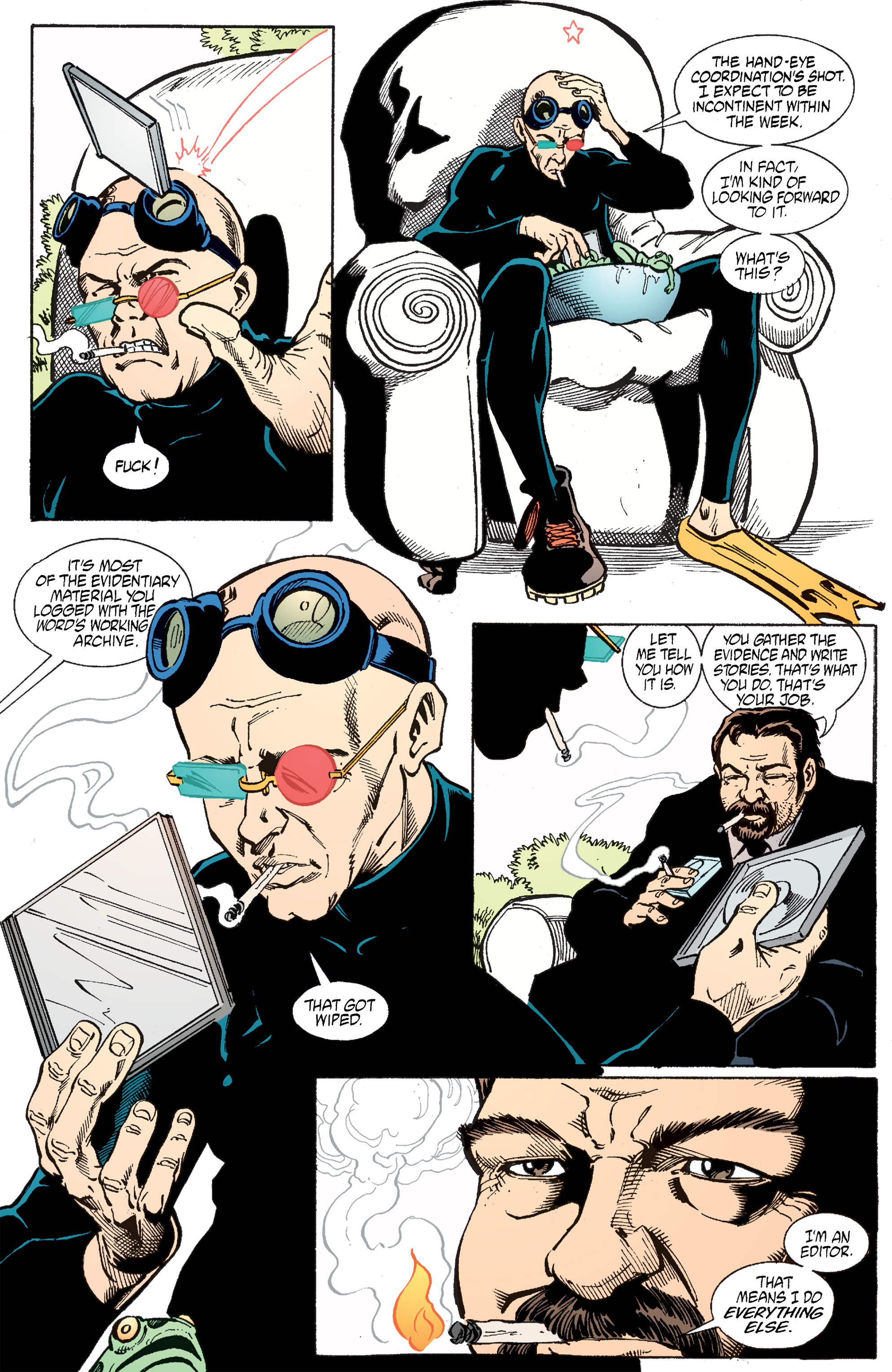 Read online Transmetropolitan comic -  Issue #51 - 18