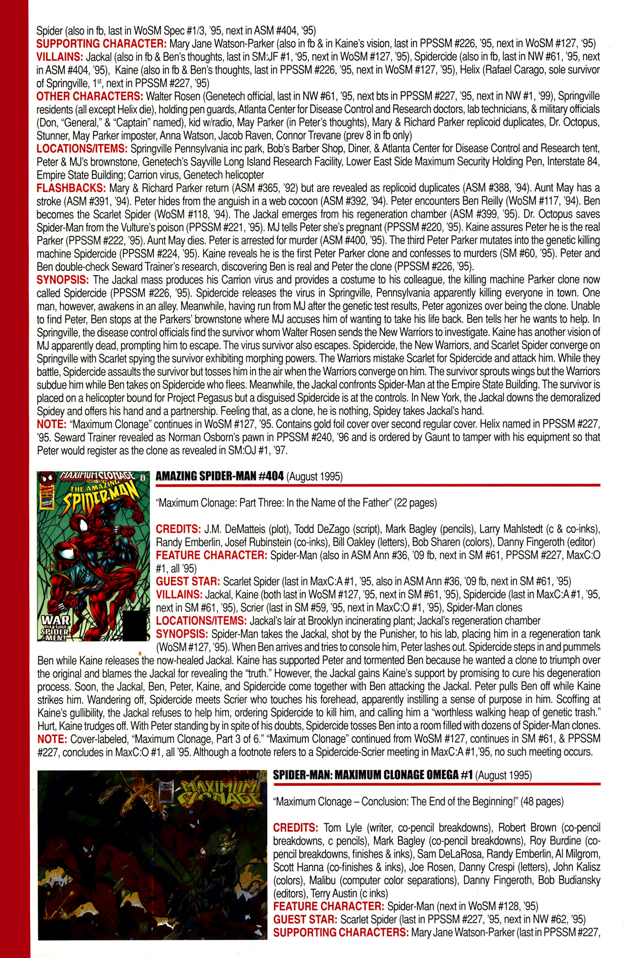 Read online Official Index to the Marvel Universe comic -  Issue #10 - 4