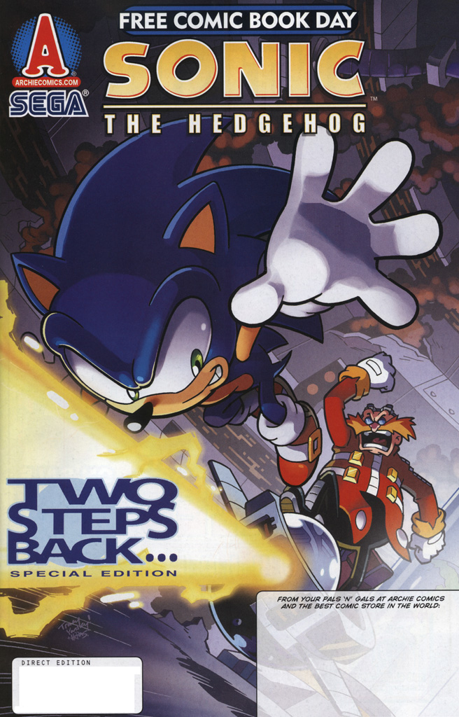 Read online Sonic the Hedgehog Free Comic Book Day Edition comic -  Issue # Special 6 - 1