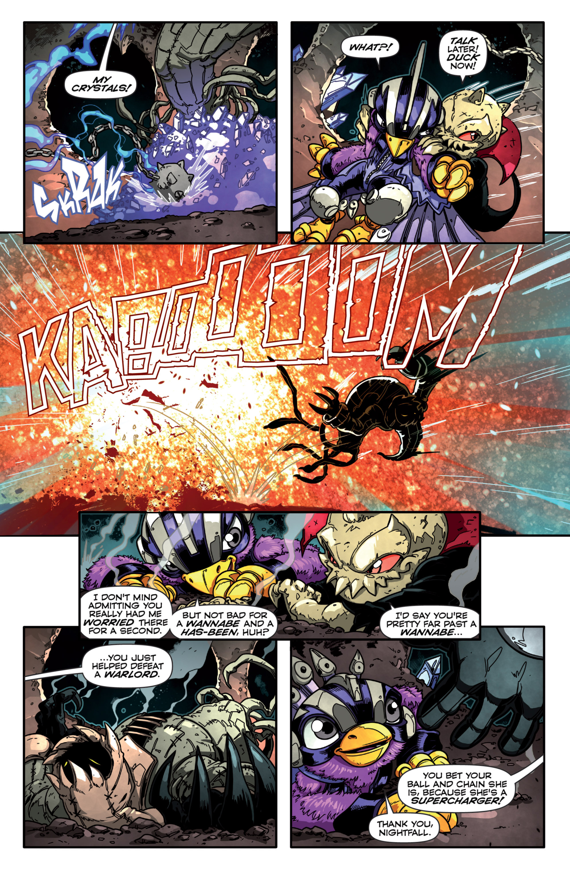 Read online Skylanders Superchargers comic -  Issue #3 - 16