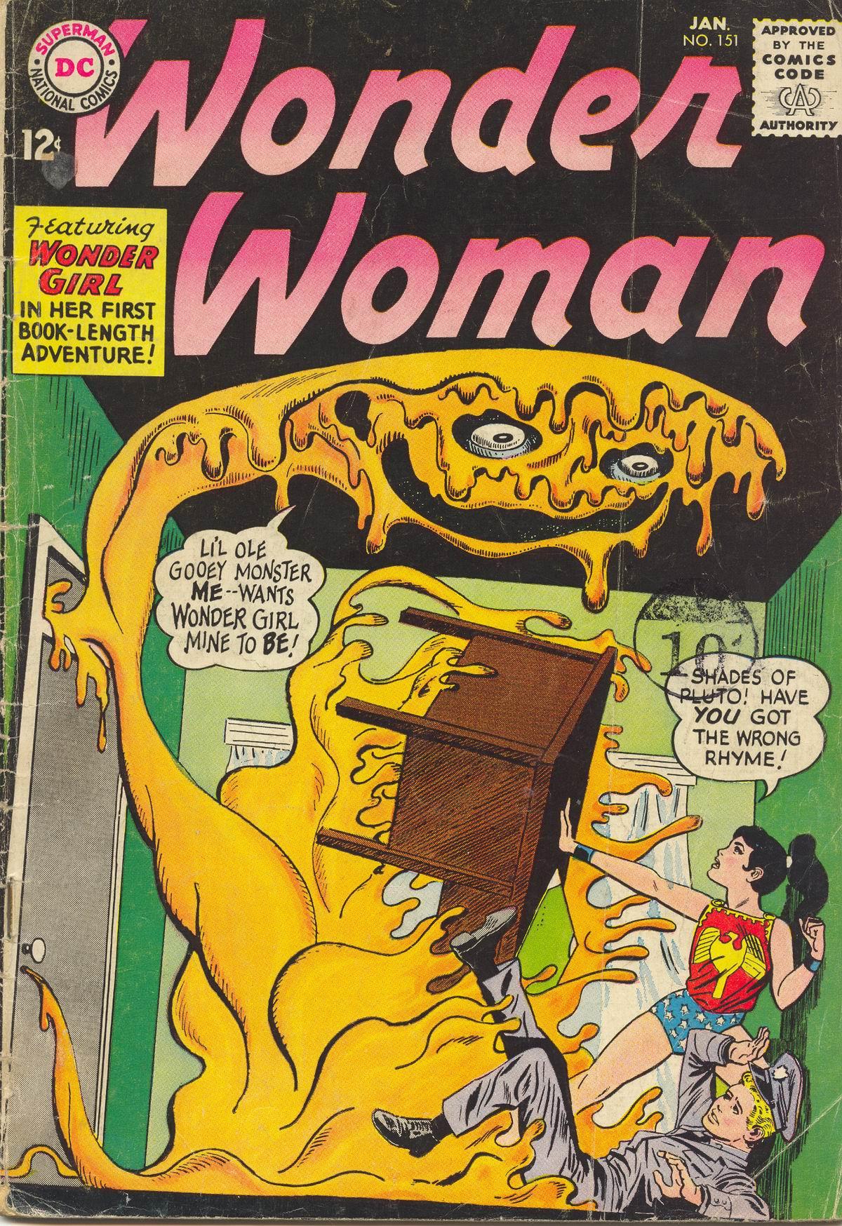 Read online Wonder Woman (1942) comic -  Issue #151 - 1