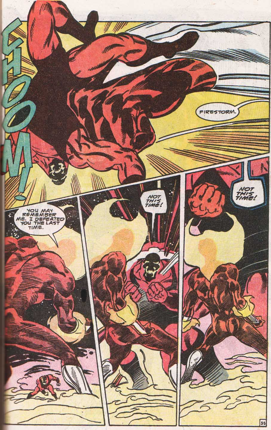 Firestorm, the Nuclear Man Issue #100 #36 - English 36
