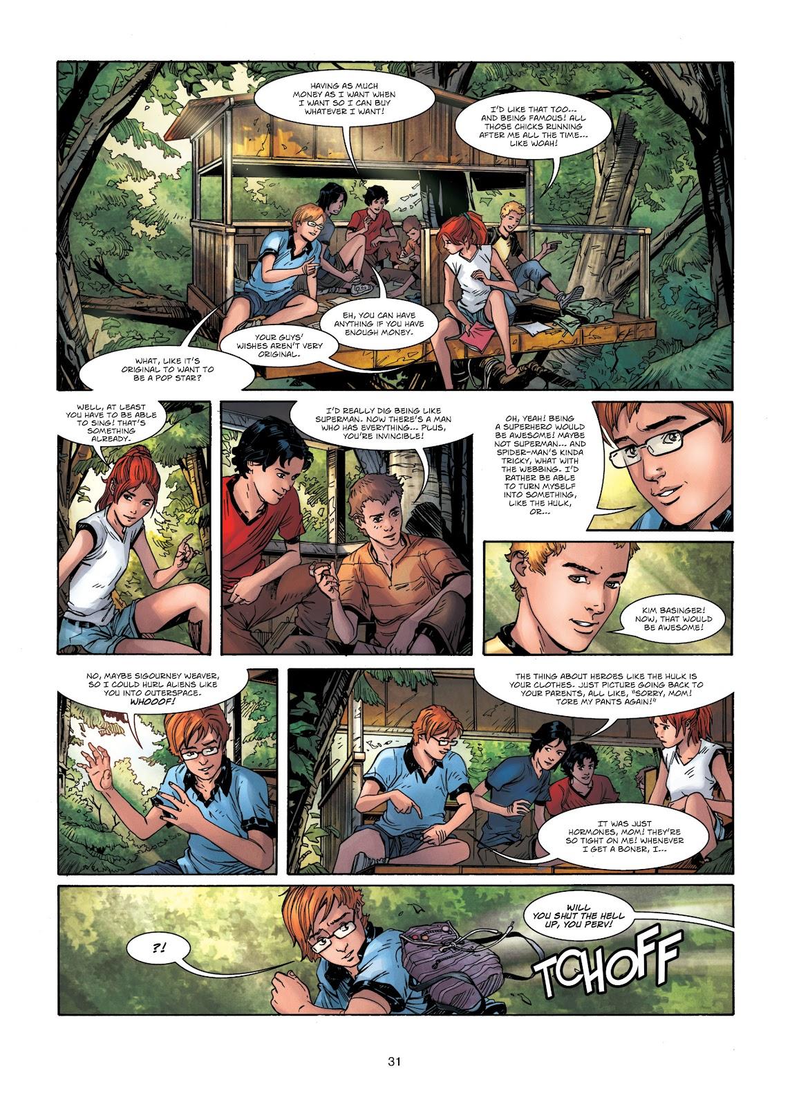 Read online Vigilantes comic -  Issue #1 - 31