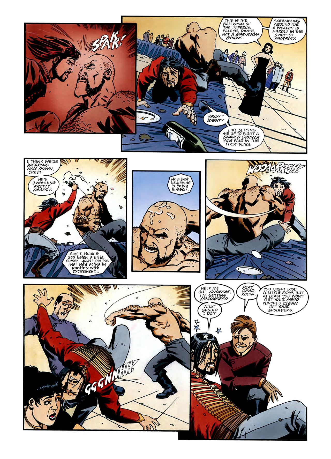 Read online Nikolai Dante comic -  Issue # TPB 3 - 12