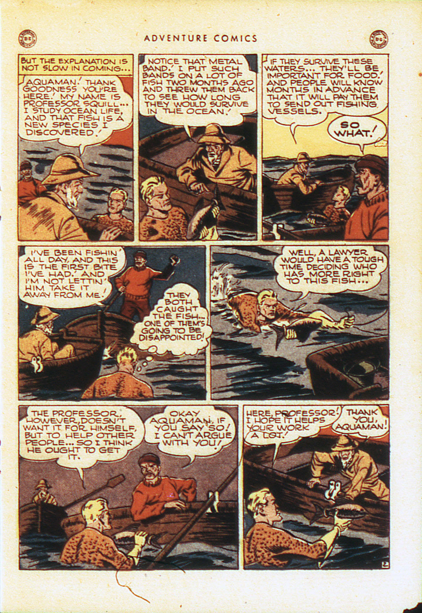 Read online Adventure Comics (1938) comic -  Issue #104 - 24
