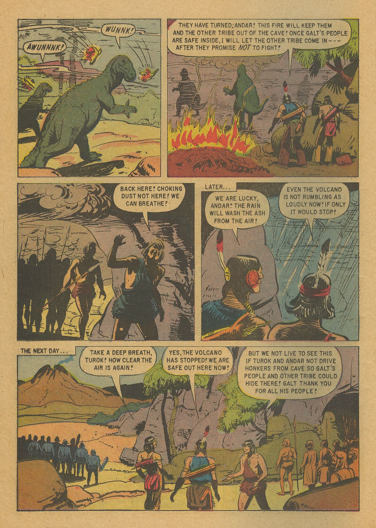 Read online Turok, Son of Stone comic -  Issue #20 - 16
