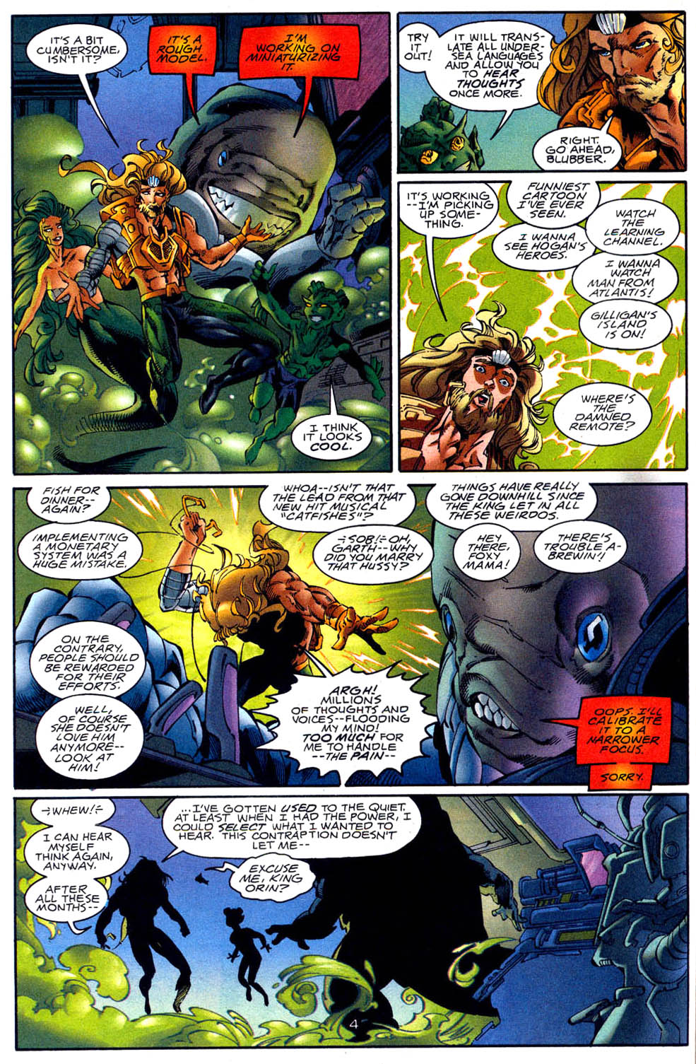 Read online Aquaman (1994) comic -  Issue #62 - 5