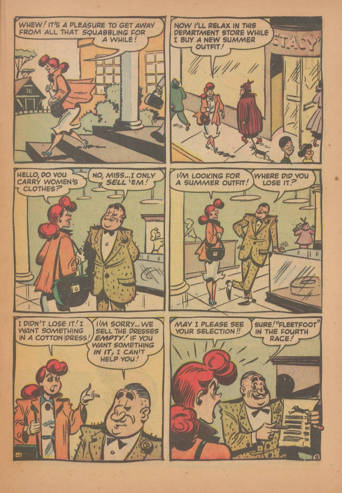 Read online Nellie The Nurse (1945) comic -  Issue #35 - 21