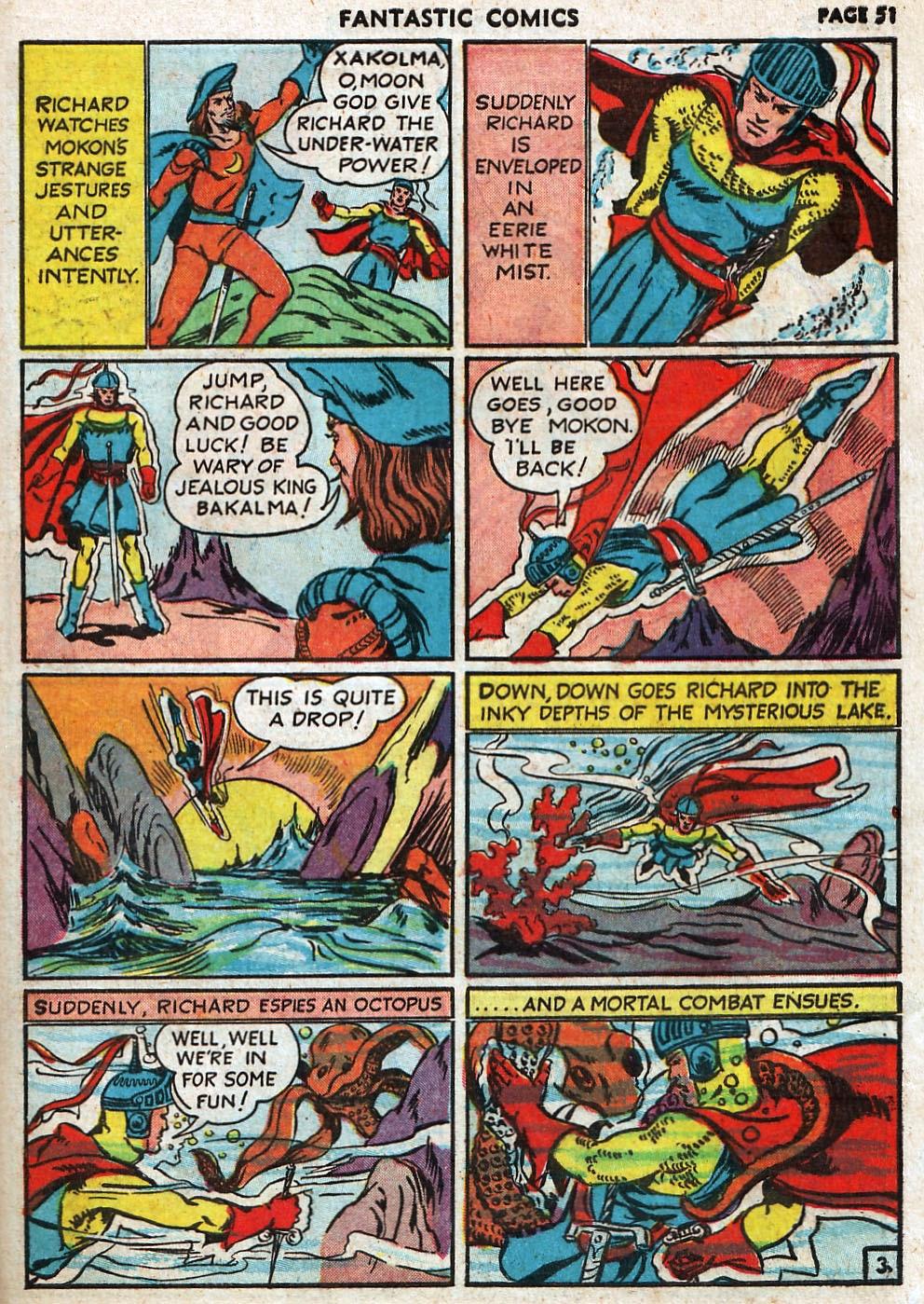 Read online Fantastic Comics comic -  Issue #17 - 52