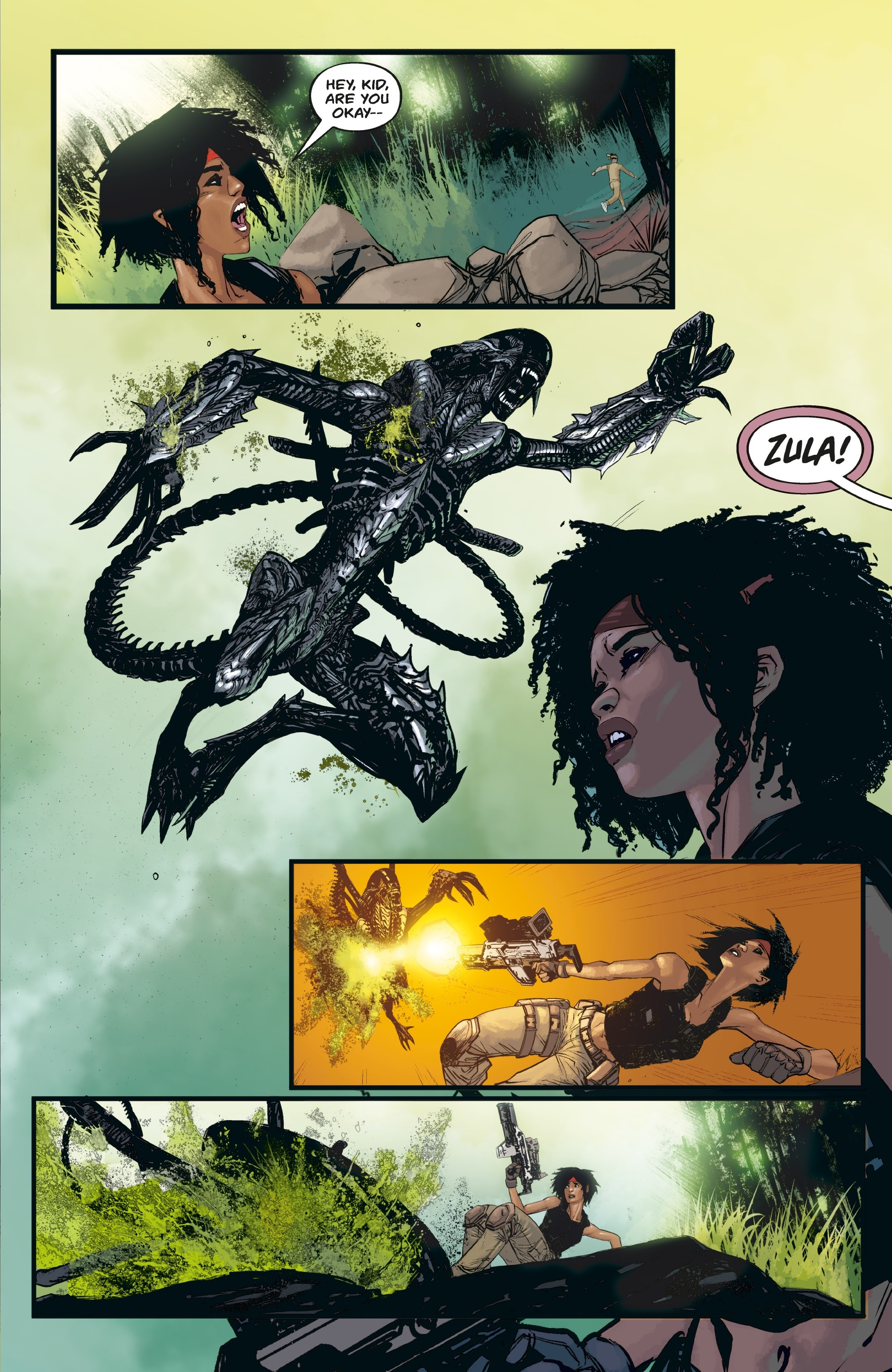 Aliens: Resistance issue 3 - Page 15