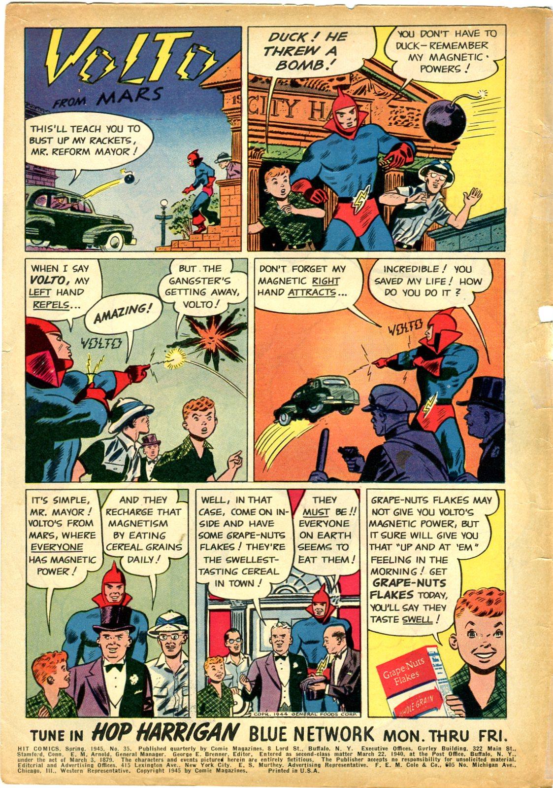 Read online Hit Comics comic -  Issue #35 - 2