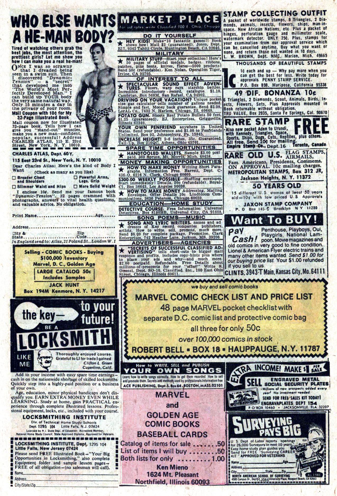 Read online Amazing Adventures (1970) comic -  Issue #27 - 25