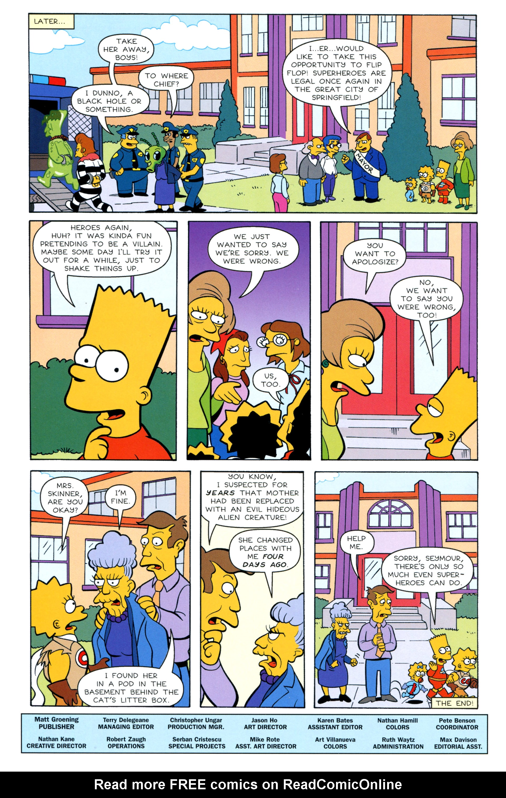 Read online Simpsons Illustrated (2012) comic -  Issue #8 - 46