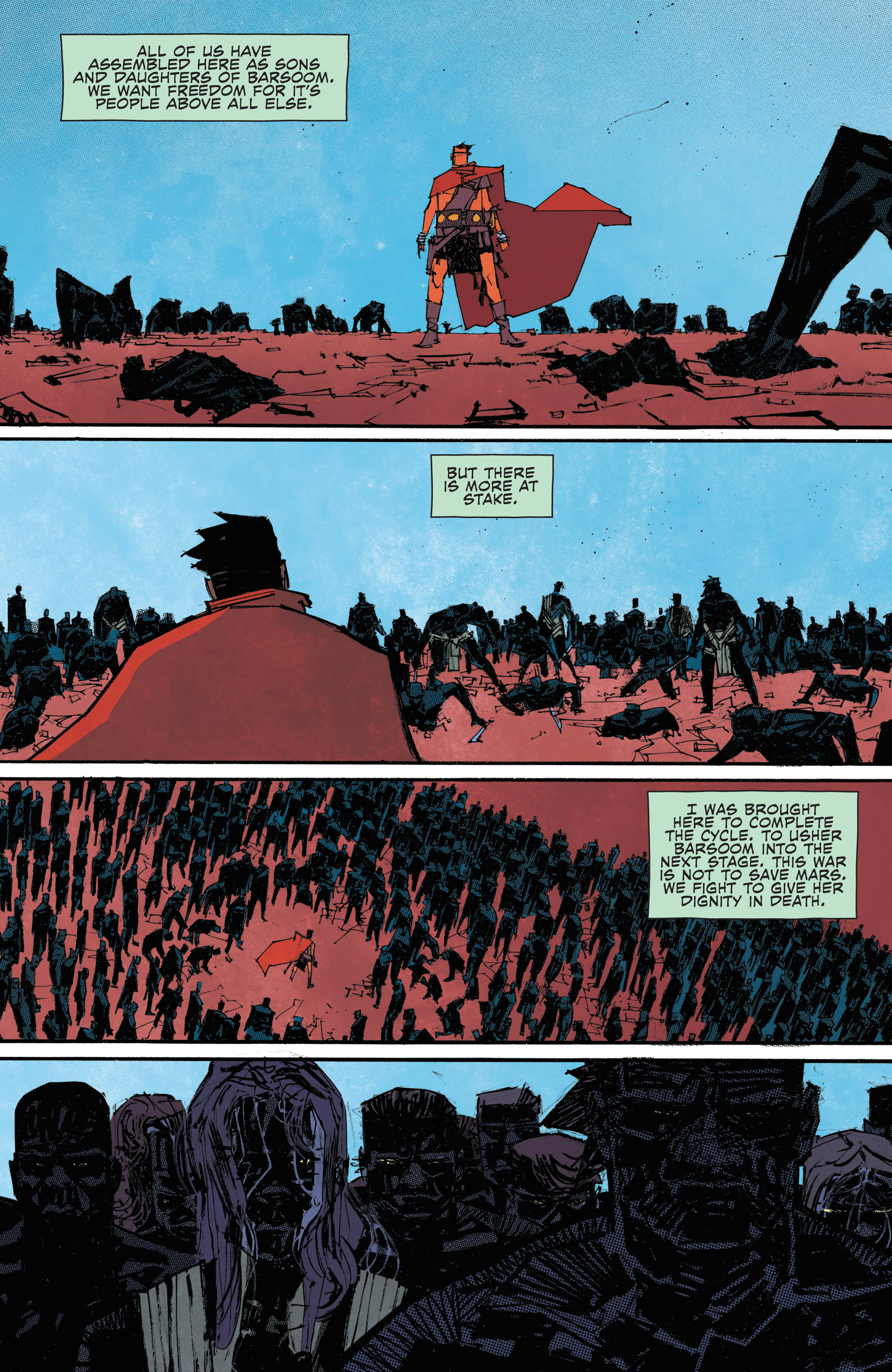Read online John Carter: The End comic -  Issue #4 - 22