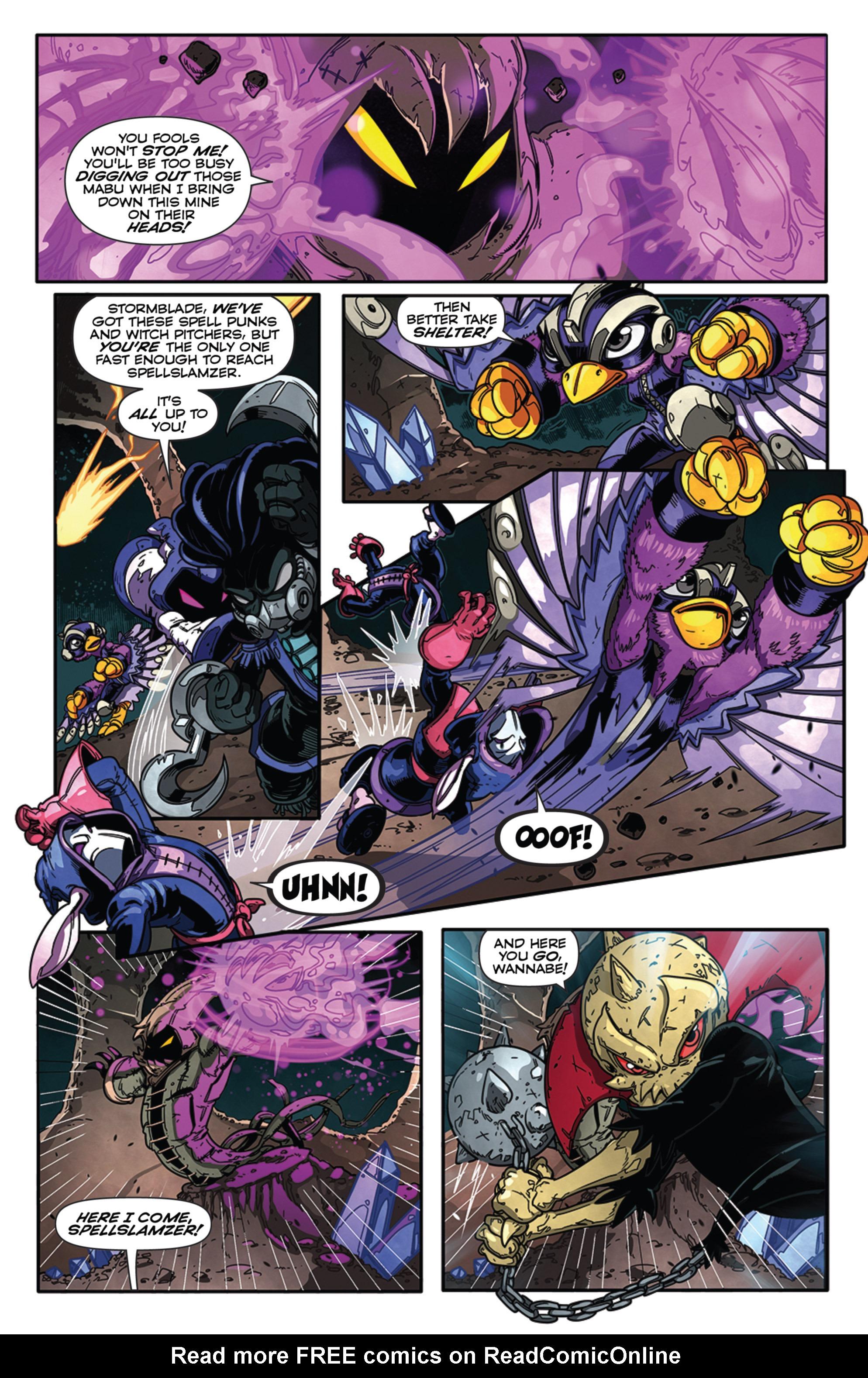 Read online Skylanders Superchargers comic -  Issue #3 - 13