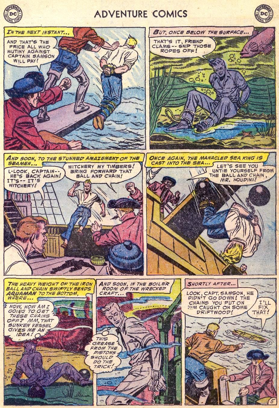 Read online Adventure Comics (1938) comic -  Issue #197 - 21