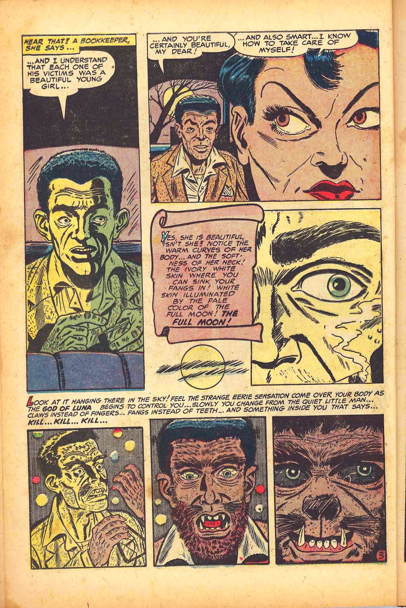 Weird Mysteries (1952) issue 6 - Page 12