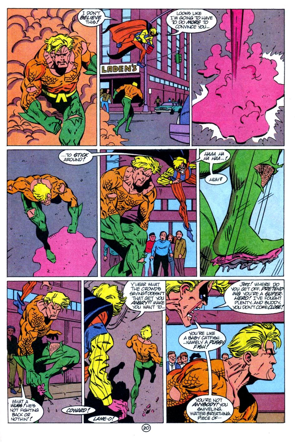 Read online Aquaman: Time and Tide comic -  Issue #1 - 21