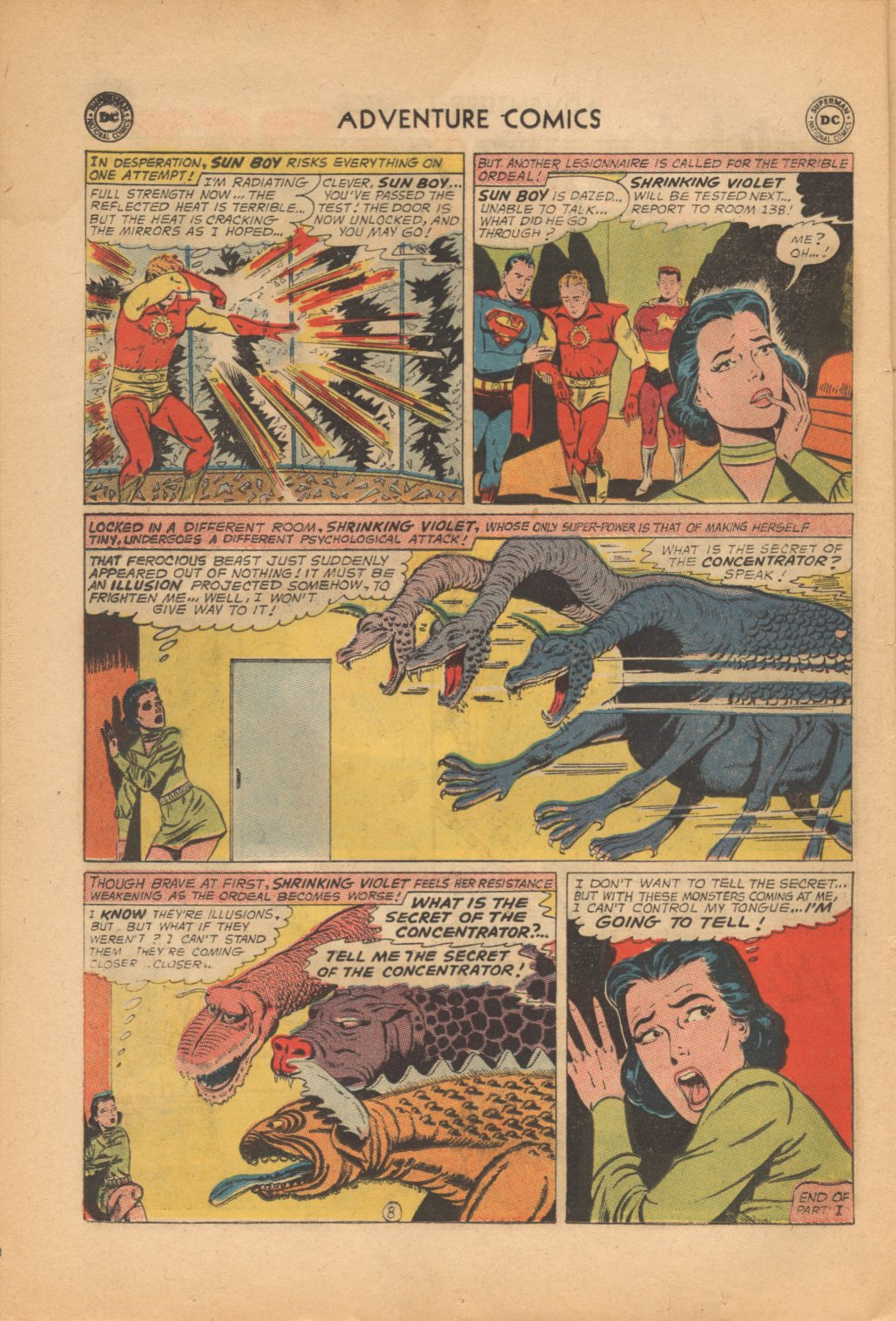 Read online Adventure Comics (1938) comic -  Issue #321 - 10
