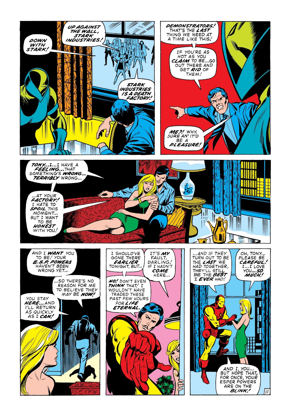 Read online Marvel Masterworks: The Invincible Iron Man comic -  Issue # TPB 8 (Part 2) - 33