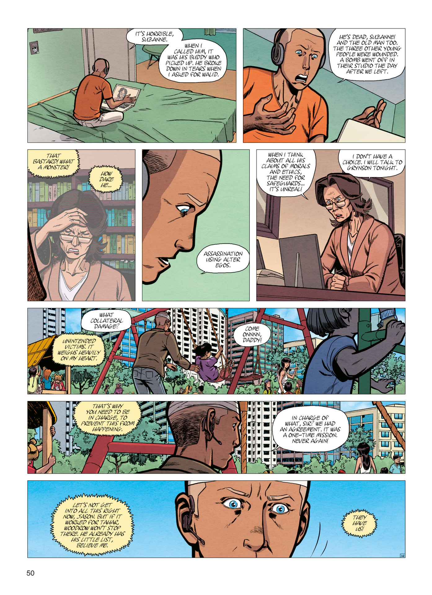 Read online Alter Ego comic -  Issue #4 - 52