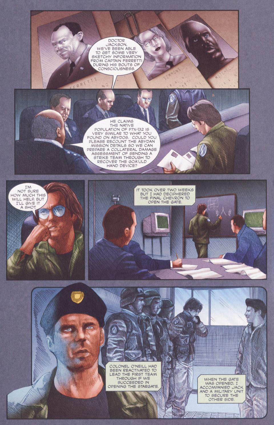 Read online Stargate SG-1: POW comic -  Issue #2 - 12