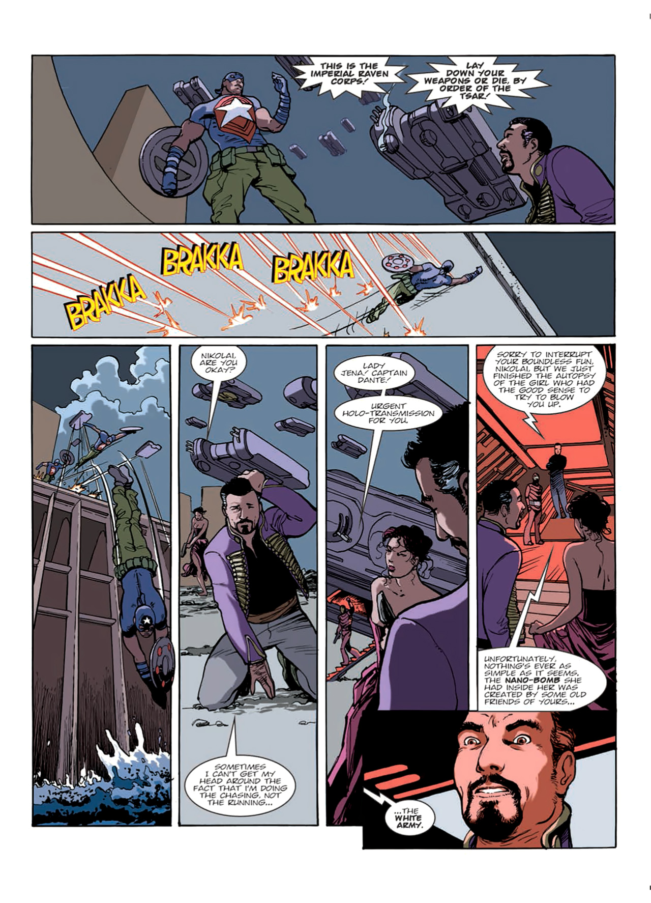 Read online Nikolai Dante comic -  Issue # TPB 9 - 29