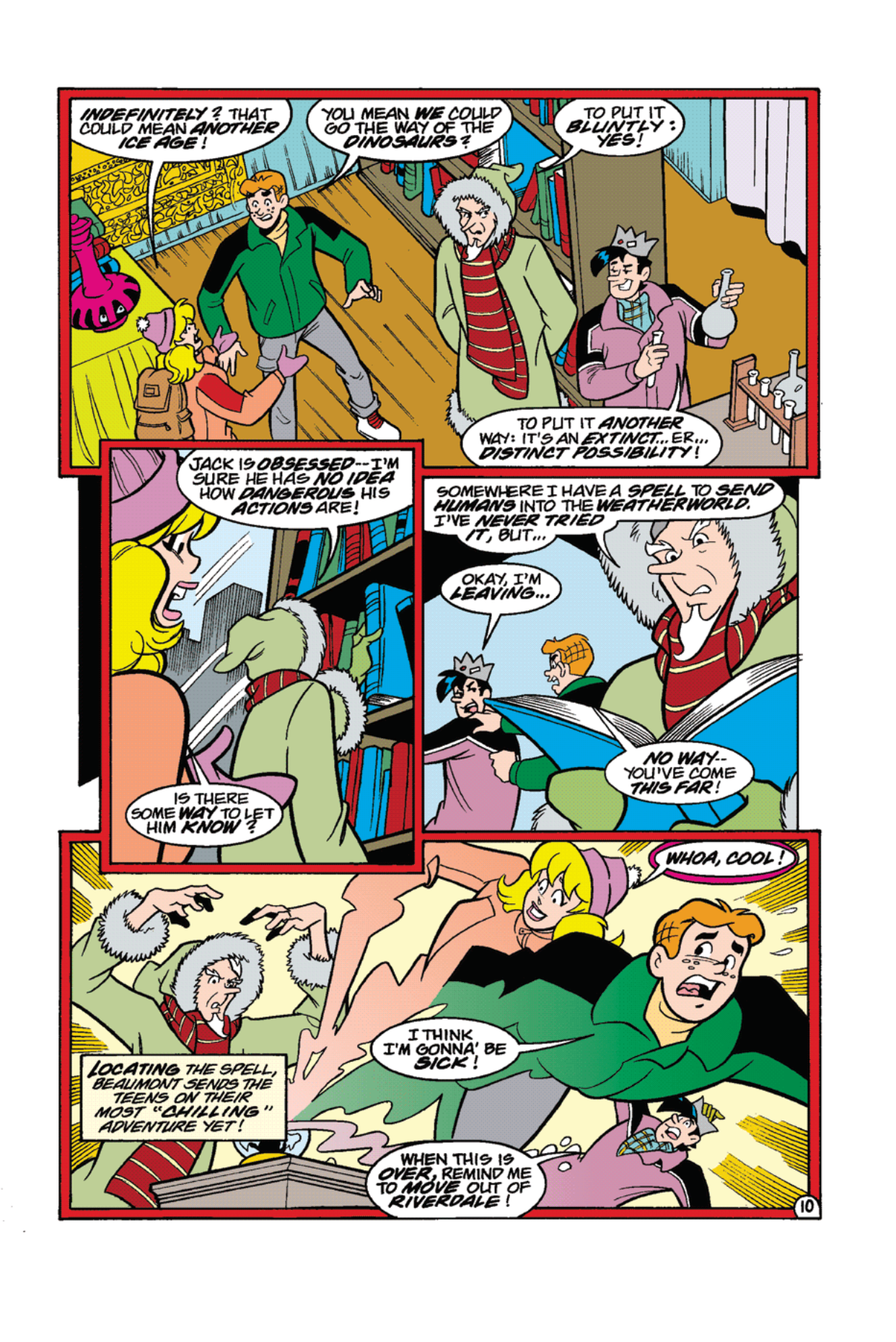 Read online Archie's Weird Mysteries comic -  Issue #11 - 12