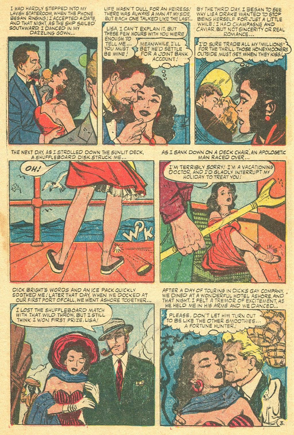 Love Romances (1949) issue 48 - Page 5