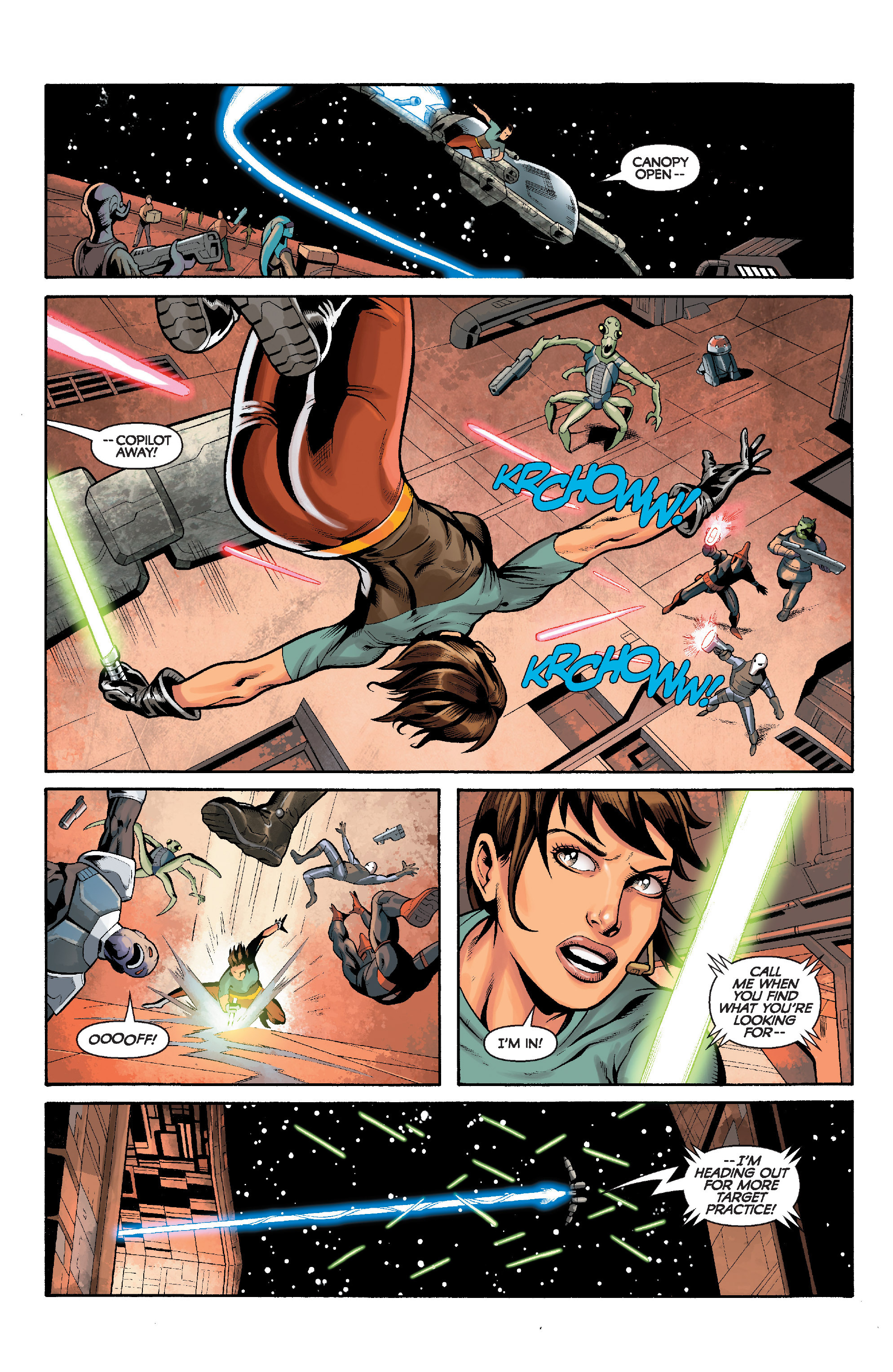Read online Star Wars: Knight Errant - Deluge comic -  Issue #5 - 9