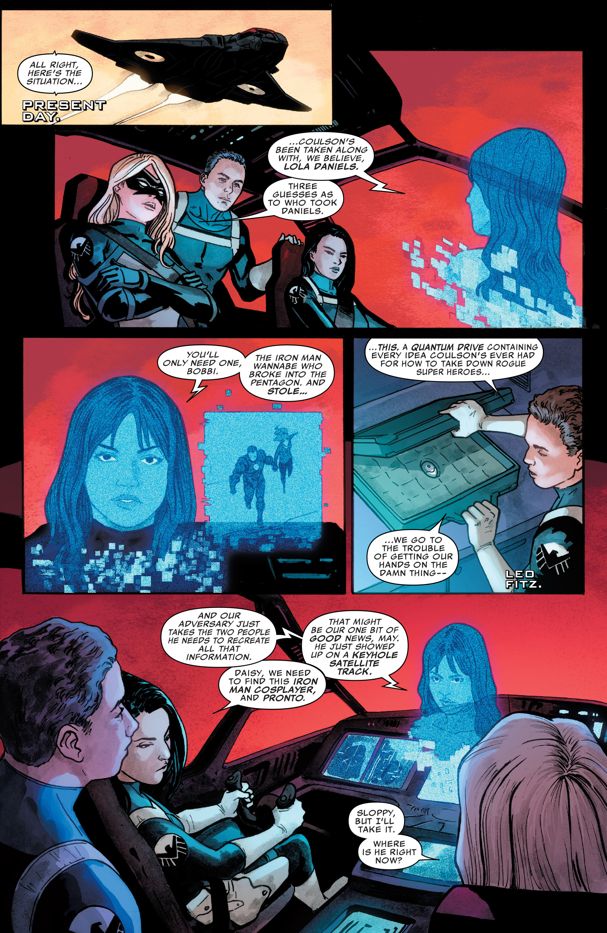 Read online Agents of S.H.I.E.L.D. comic -  Issue #5 - 14