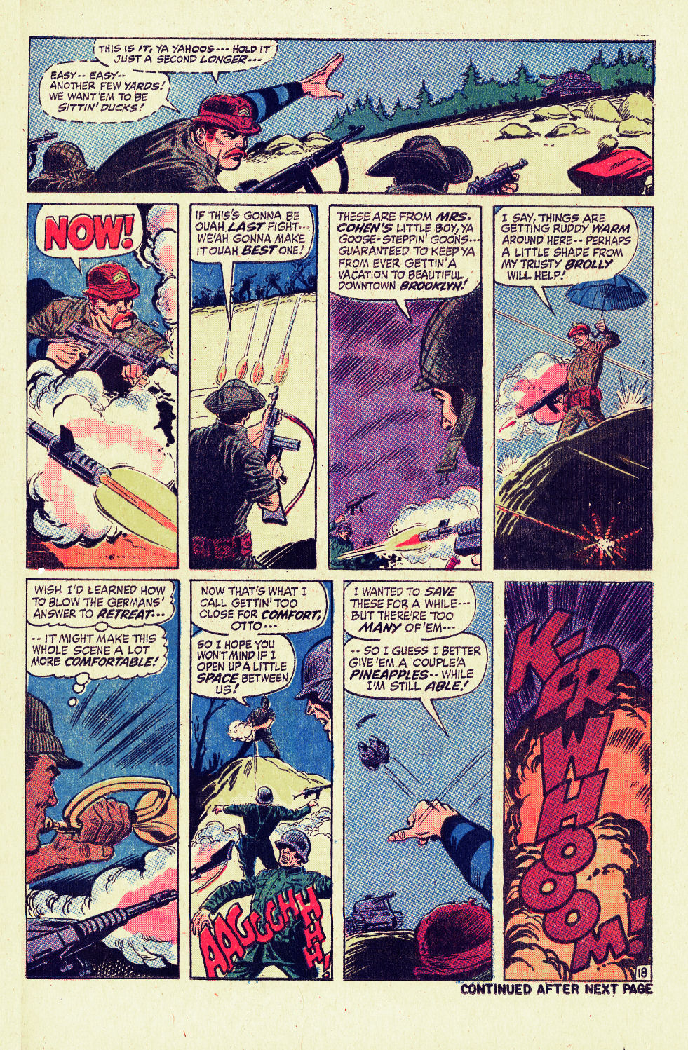 Read online Sgt. Fury comic -  Issue #96 - 25