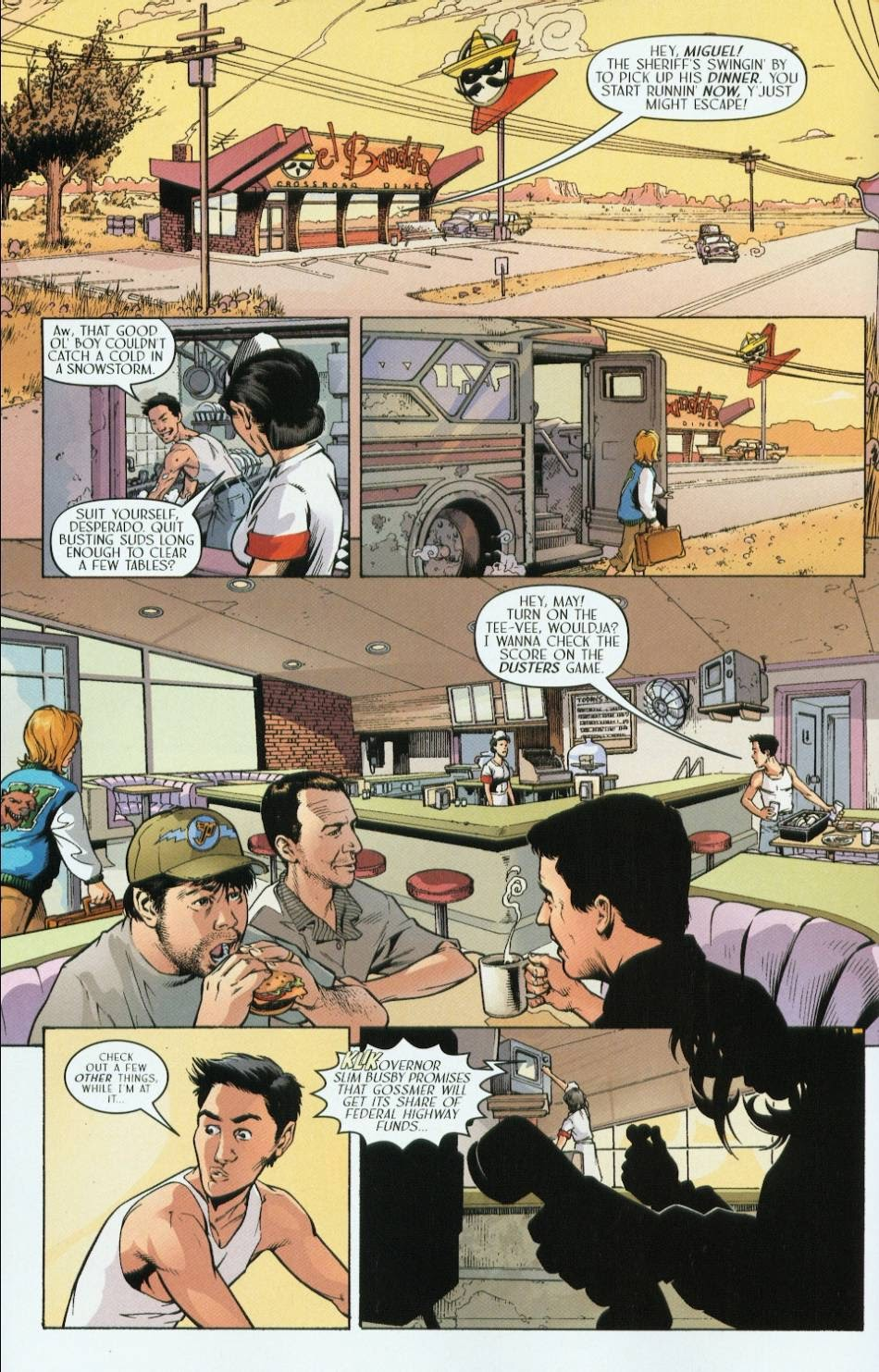 Read online Route 666 comic -  Issue #3 - 16